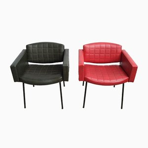 Armchairs by Pierre Guariche for Meurop, 1961, Set of 2