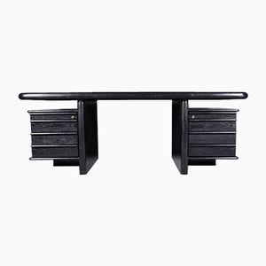 Schreibtisch aus Eichenholz, 1970er