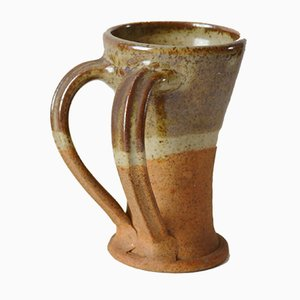 Double Handled Mug by Colin Pearson for Ayelsford, 1950s