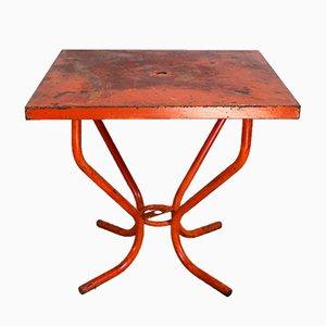 Tavolo vintage di Xavier Pauchard per Tolix, anni '50