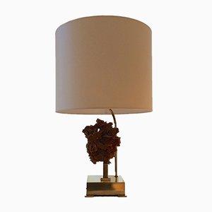 Belgian Desert Rose Table Lamp, 1970s