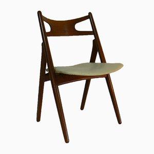 CH29 Sawbuck Stuhl aus Teak von Hans J. Wegner für Carl Hansen & Son, 1950er