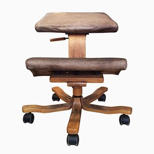 Ergonomischer norwegischer Stuhl von Stokke, 1960er