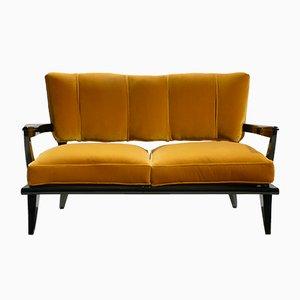 Französisches Sofa von Etienne-Henri Martin für Steiner, 1950er