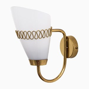 Model 71048 Brass Sconce by Mauri Almari for Idman, 1950s