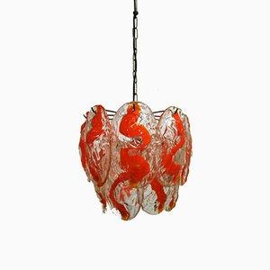 Lámpara de araña Mid-Century de Murano soplado de La Murrina, años 60