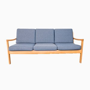 Senator Oak Sofa by Ole Wanscher for France & Son, 1960s