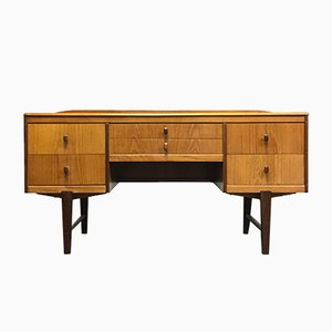 Mid-Century Compact Teak Dressing Table from Homeworthy