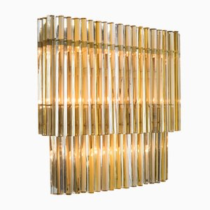 Murano Glass Wall Light from Venini, 1960s
