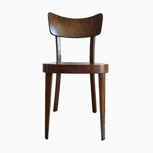 Chaise Tchèque en Contreplaqué et Hêtre pour TON, 1960s