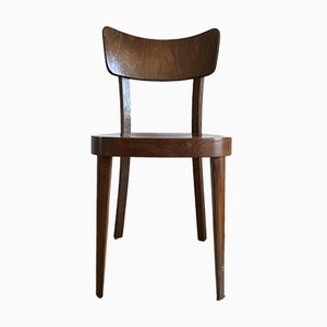 Czech Beech and Plywood Chair for TON, 1960s