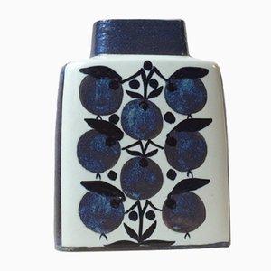 Keramikvase von Grethe Helland Hansen für Royal Copenhagen, 1970er