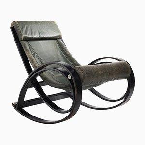 Sedia a dondolo Sgarsul di Gae Aulenti per Poltronova, 1962