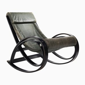 Sgarsul Rocking Chair by Gae Aulenti for Poltronova, 1962
