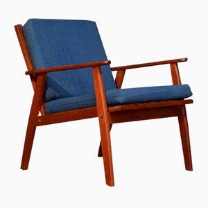 Vintage Scandinavian Teak Lounge Chair