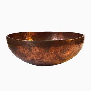 Cuenco Chö-Pa de cobre martillado, años 70