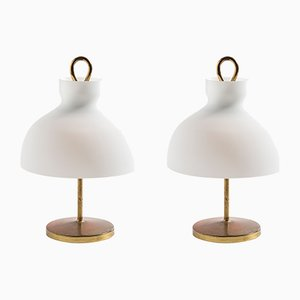LT3 Table Lamps by Ignazio Gardella for Azucena, 1950s, Set of 2