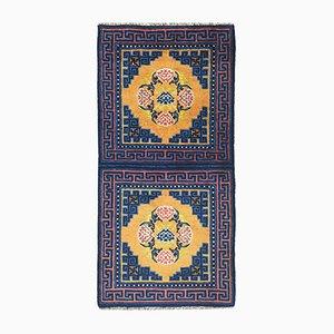 Antiker chinesischer Ningxia Teppich