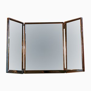 Art Deco Foldable Theater Mirror, 1930s