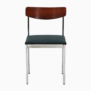 Chrome & Rosewood Side Chair, 1960s