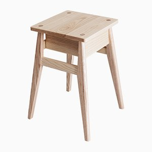 Nachttisch aus Eichenholz von Jacob Pugh