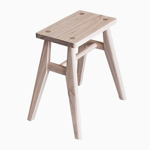 Stool in Oak by Jacob Pugh