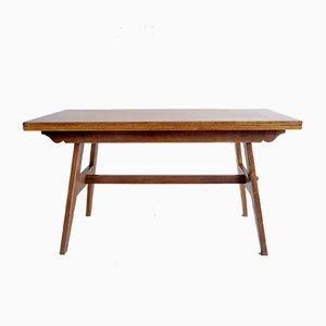 Mesa de comedor Mid-Century de roble de René Gabriel, años 50