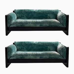 Simone Sofas by Dino Gavina for Studio Simon, 1950s, Set of 2