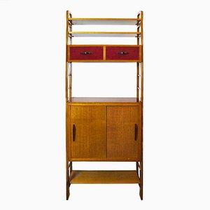 Mobile in legno di quercia, anni '50