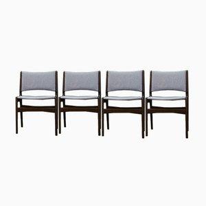 Vintage Esszimmerstühle von Henning Kjærnulf, 4er Set