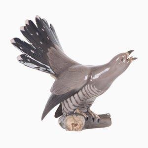 Vintage Cuckoo Figure by Dahl Jensen for Bing & Grøndahl