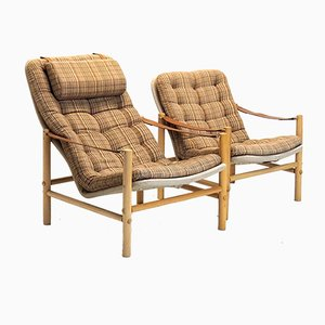 Junker Chairs by Bror Boije for Dux, 1960s, Set of 2