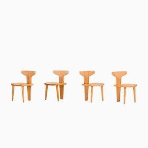 Stühle von Jacob Kielland Brandt für I. Christiansen, 1960er, 4er Set