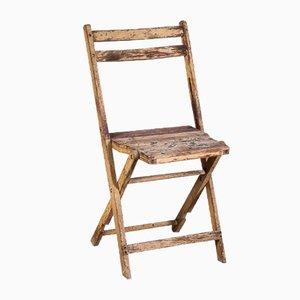 Beech Reclining Chair, 1960s