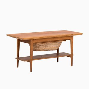 Coffee Table or Sewing Cabinet from Christensen & Larsen, 1960s