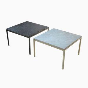 Tavolini da caffè T-Angle prima edizione di Florence Knoll Bassett per Knoll International, set di 2