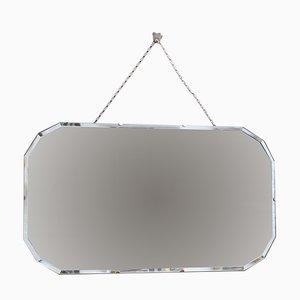 Mid-Century 12-Sided Wall Mirror