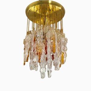 Lámpara de araña de Mazzega, años 60