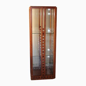 Glass Cupboard by Ferdinando Meccani for Meccani Arredamenti, 1978