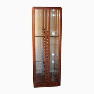 Glasschrank von Ferdinando Meccani für Meccani Arredamenti, 1978