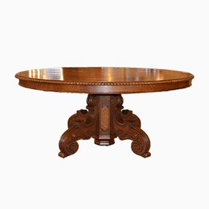 Extendable Oval Table, 1850s