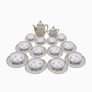Limoges Porcelain Tea Set from Maison Chastagner, 1960s
