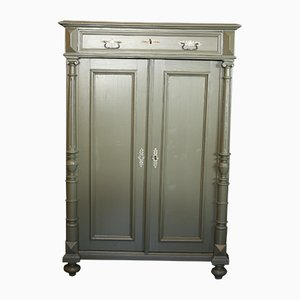 Antique Hand-Painted Cabinet