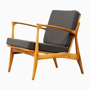 Mid-Century Modern Easy Chair, 1950s