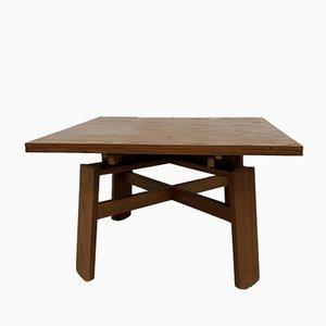 Tavolo da pranzo allungabile di Silvio Coppola per Bernini, 1964