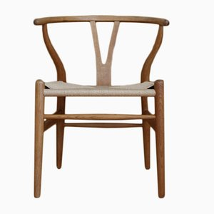 Model CH24 Wishbone or Y-Chair by Hans J. Wegner for Carl Hansen & Søn, 1950s