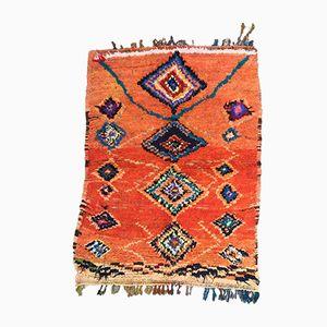 Vintage Berber Azilal Teppich mit hoher Flor, 1980er
