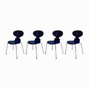 Chairs by Arne Jacobsen for Fritz Hansen, 1997, Set of 4