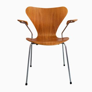 Sedia 3207 di Arne Jacobsen per Fritz Hansen, 1984