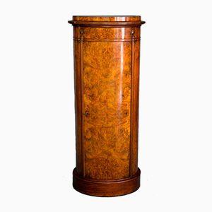 Mobiletto cilindrico Biedermeier, inizio XIX secolo